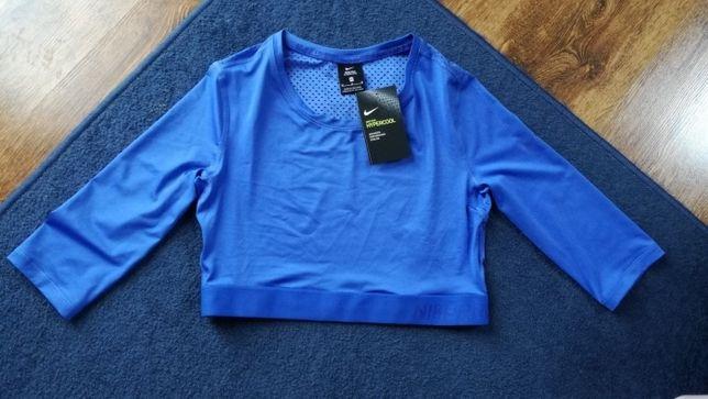 Nike Performance Krótka koszulka sportowa crop top dry fit rozm. M