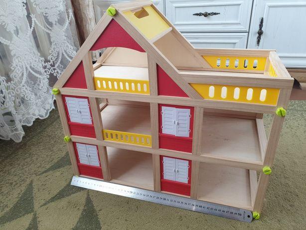 Игрушечный детский домик дом