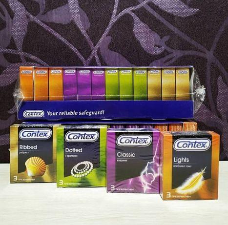 презервативы Contex Контекс 36 штук в блоке микс. До 2022.