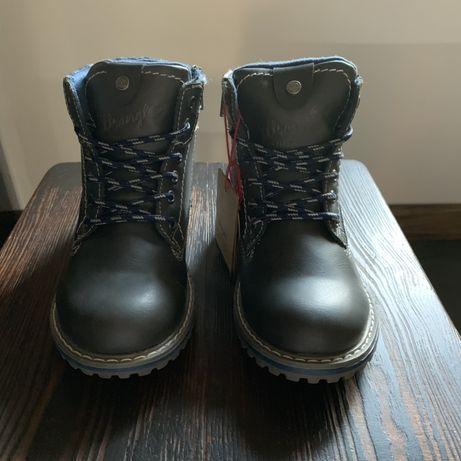 Buty dziecięce jesienno-zimowe Wrangler, trapery
