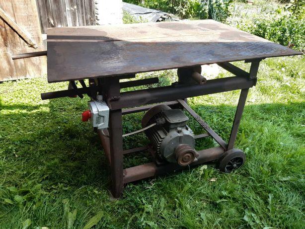 Piła stołowa, cyrkularka,  krajzega z silnikiem 4kW, 1440obr/min, 380V