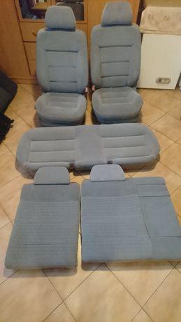 Siedzenia Passat b5 sedan jasny welur