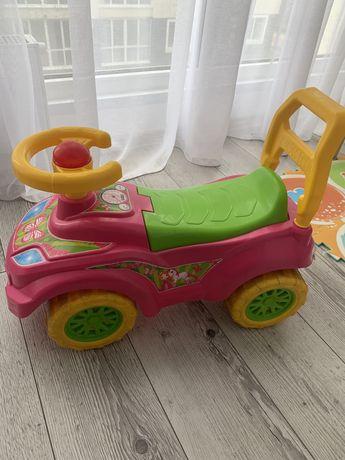 Машина толокар, машинка для девочки, толокар
