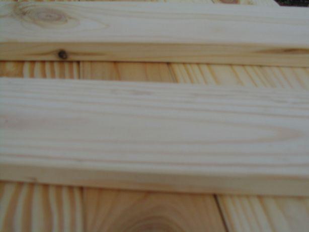 Deski Industrialne, heblowane na ramę do obrazu - nowe 90 cm