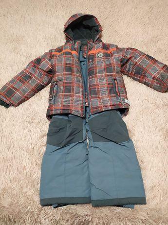 Продам зимний костюм для мальчика на 5-6лет б/у в отличном состоянии