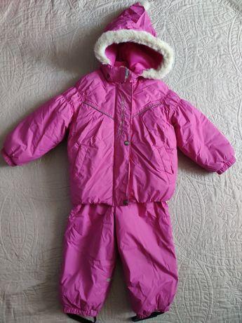 Зимний комплект Lenne, полукомбинезон и куртка