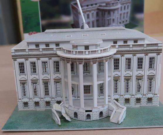 puzzle 3d Statua wolności, Biały dom, Tower bridge,