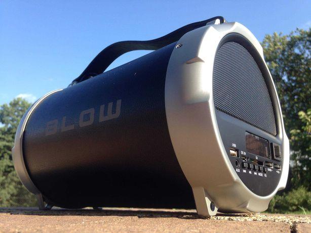 Subwoofer Boombox Głośnik BLUETOOTH Radio Odtwarzacz MP3 USB Budowlane