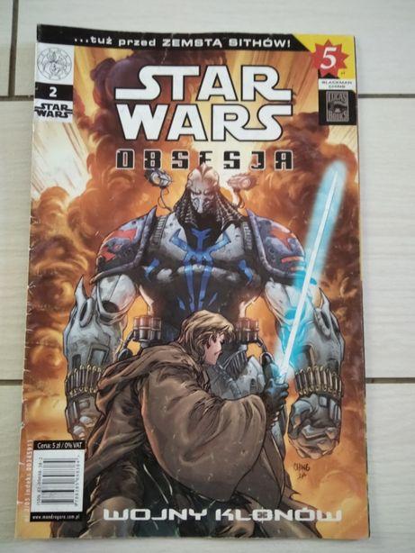 Komiks Star Wars Wojny Klonów Obsesja 2/2005