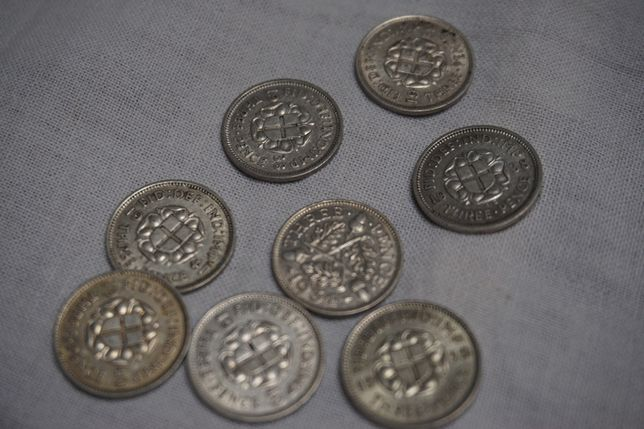 3 pensy Wielka Brytania - srebro