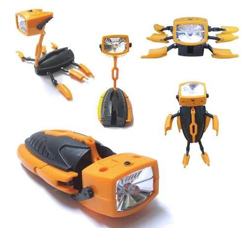Ліхтар-трансформер Transformix Robot Torch (фонарь-робот) LED
