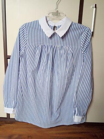 Koszula elegancka ciążowa bluzka tunika
