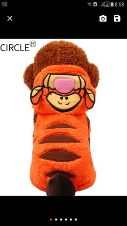 Новый флисовый костюм Тигр р.М