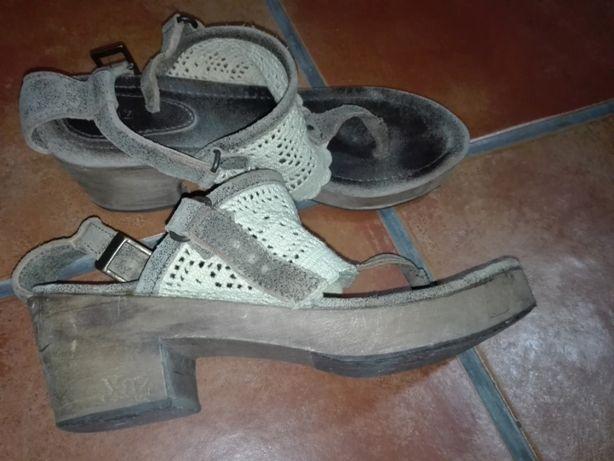 Sandálias XUZ n 38 - pele