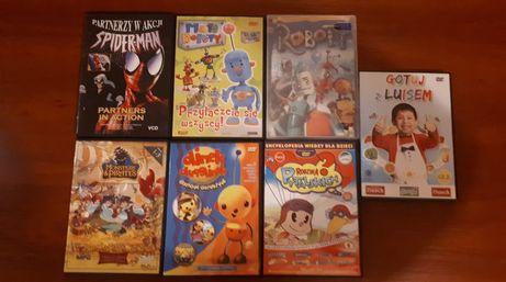 STAN IDEALNY - Bajki, filmy dla dzieci na DVD 5zł/szt.