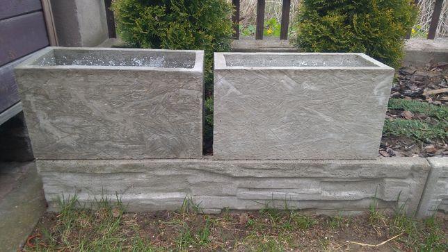 Doniczki (osłonki) betonowe
