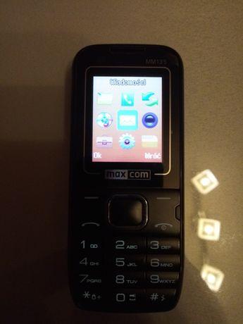 Telefon z aparatem maxcom super stan