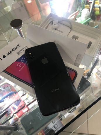 Iphone X 64gb spase gray айфон Х 64gb черный Киев