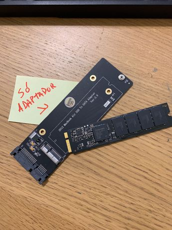 Adaptador de 8 + 18 pin MacBook Apple ssd para Sata drive