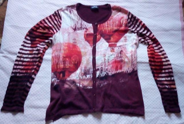 Cienki sweterek TAIFUN rozmiar XL