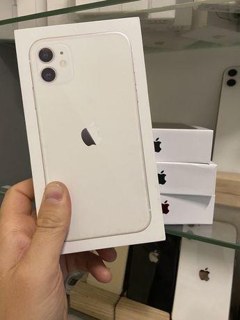 Нові iPhone 11 64gb White Neverlock  Річна гарантія