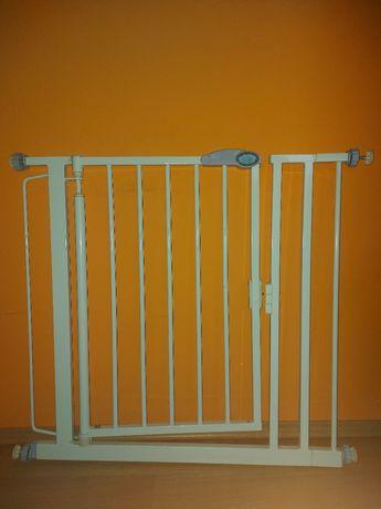 Bramka zabezpieczająca  dla dzieci regulowana na drzwi schody