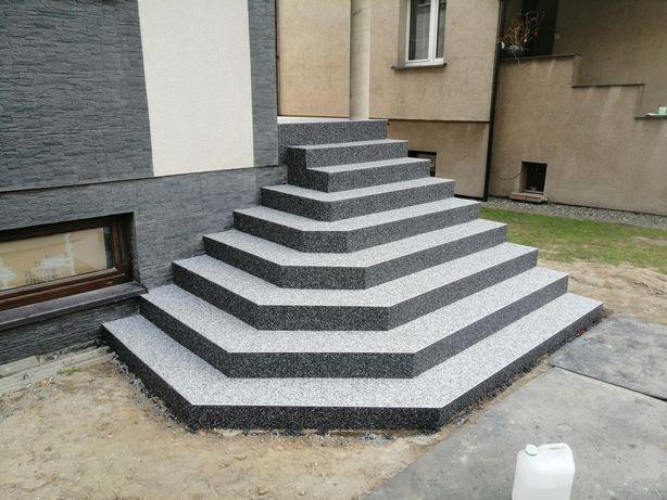 Kamienne dywany Posadzki żywiczne