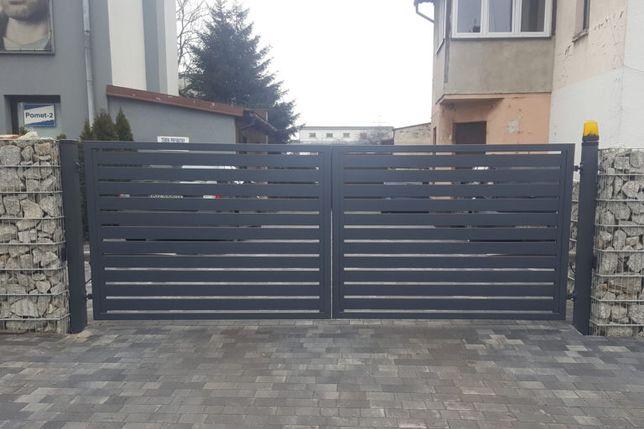 Przesla palisadowe, panelowe, bramy, furtki, montaz