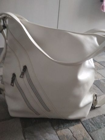 Сумка-рюкзак (белая)