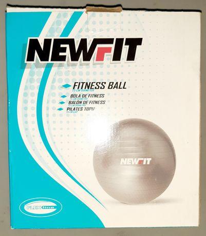 Bola fitness / pilates 75cm diâmetro, marca Newfit - Como nova