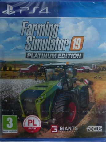 FARMING SIMULATOR 19 PS4, pl, gra nowa w folii, sklep
