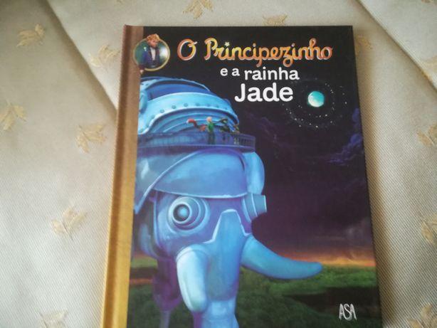 Livro O principezinho e a rainha Jade
