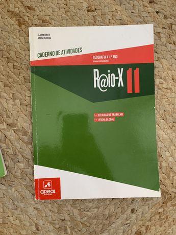 Caderno de Atividades - Raio-X 11 - Geografia A - 11º Ano