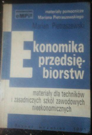 Ekonomika przedsiębiorstw Marian Pietraszewski