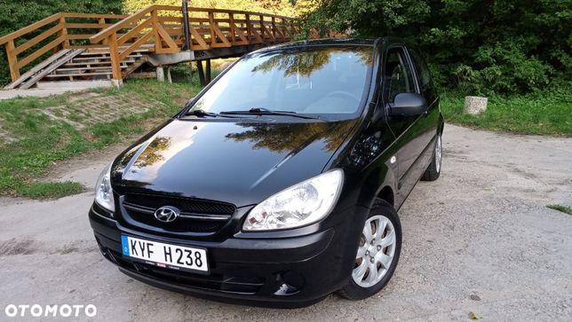 Hyundai Getz 1.1 benzyna 4 cylindry KLIMATYZACJA 1. właścicielka 151 tyś.km CZARNY