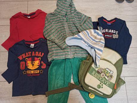 Zestaw ubranek dla chłopca - rozmiar 92