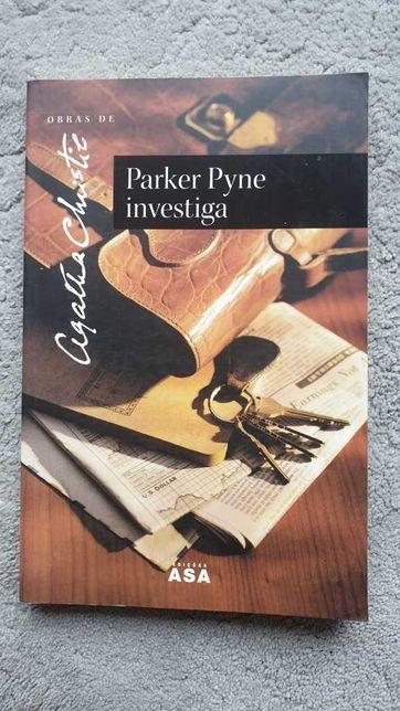 Vendo livro da Agatha Christie - Parker Pyne investiga