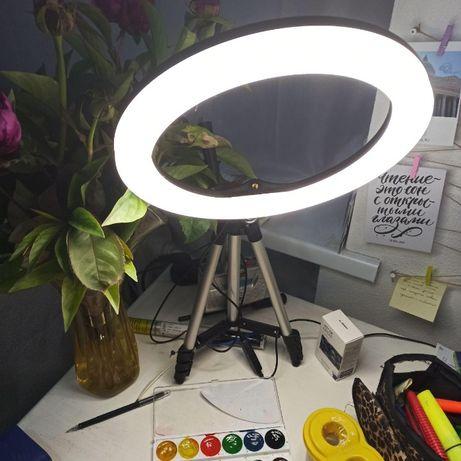 Профессиональное освещение для блогера художника фотографа кольцевая