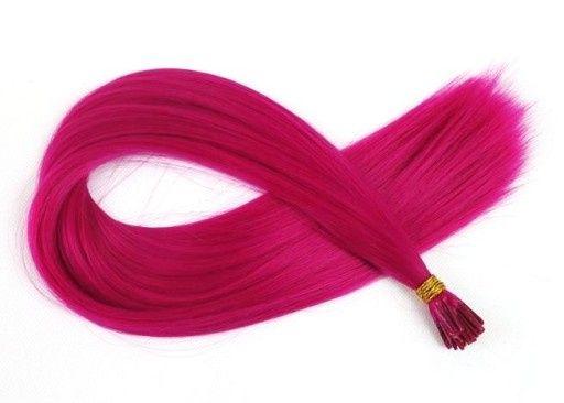ZESTAW 7 szt Pasemek Europejskich 100% Naturalnych 50 cm długości Pink