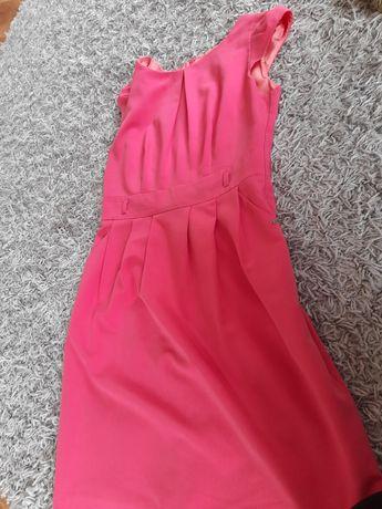 ette lou 42 różowa sukienka damska elegancka