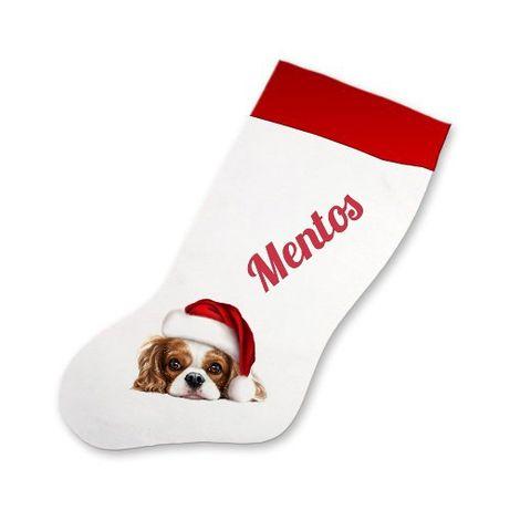 Skarpeta świąteczna mikołajki prezent święta twój wzór