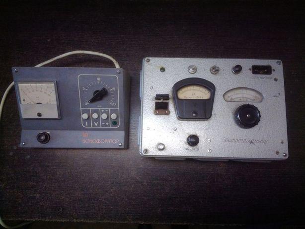 медицынские приборы ионофоратор и еритрогемометр