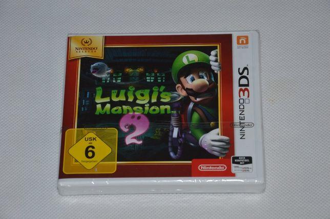 Luigis Mansion 2 Nowa Folia 3ds