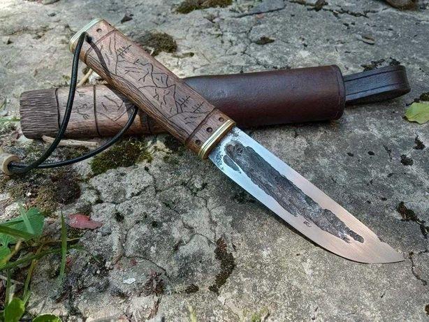 Ніж ручної роботи. Нож ручной работы. Кований ніж. Якут N690