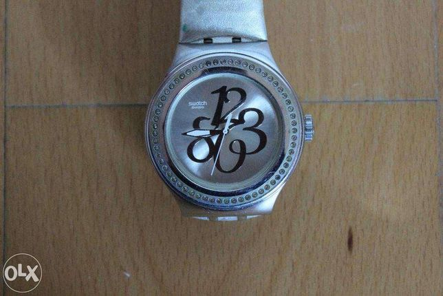 Relógio Swatch (Bracelete Pele)