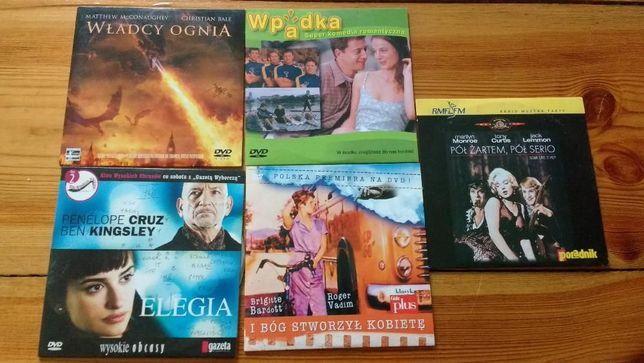 Filmy DVD 5 sztuk