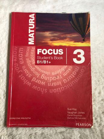 podręcznik angielski matura focus 3