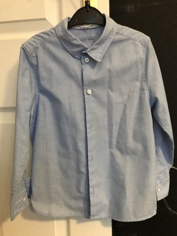 Błękitna koszula H&M 116