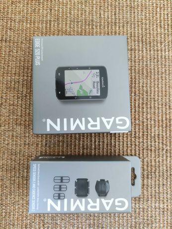 Garmin Edge Plus 520 + Sensor de velocidade 2 e de cadência 2