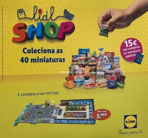 Miniaturas lidl shop 2020